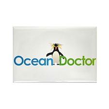 Ocean Doctor Penguin Logo Magnets