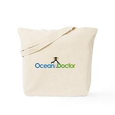 Ocean Doctor Penguin Logo Tote Bag