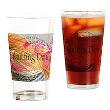 Knittingden Drinking Glass