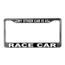 My Other Car Is A Race Car License Plate Frame #3