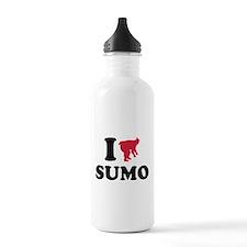 I love Sumo wrestling Water Bottle