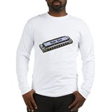 Mojo Man Bluesharp Long Sleeve T-Shirt