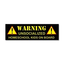 Cute Homeschool Car Magnet 10 x 3