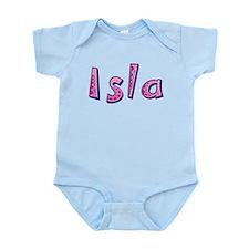 Isla Pink Giraffe Body Suit