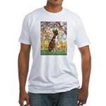 Spring with a Boxer Fitted T-Shirt