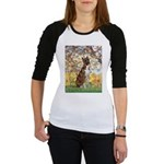 Spring with a Boxer Jr. Raglan