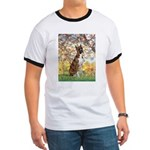 Spring with a Boxer Ringer T