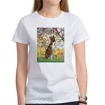 Spring with a Boxer Women's T-Shirt