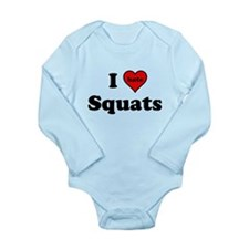I Heart (hate) Squats Body Suit