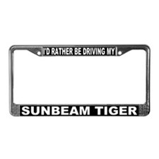 I'd Rather Be Driving My Sunbeam Tiger Frame #3