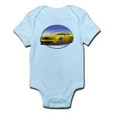 GT Stang Yellow Body Suit