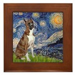Starry / Boxer Framed Tile