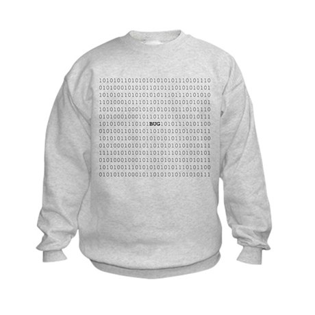 Bug In Code Kids Sweatshirt