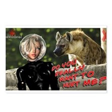 Do You Really Want To Hurst Me? Postcards (Package