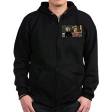 Do You Really Want To Hurst Me? Zip Hoodie