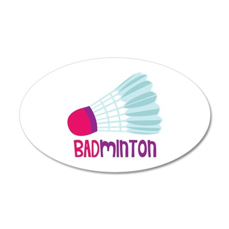 Badminton Wall Decal