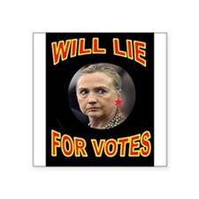 HLLARY LIES Sticker
