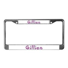 Gillian Pink Giraffe License Plate Frame