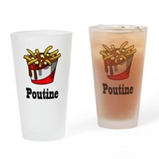 The Greasy Poutine Drinking Glass