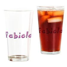 Fabiola Pink Giraffe Drinking Glass