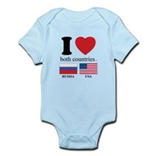 RUSSIA-USA Infant Bodysuit