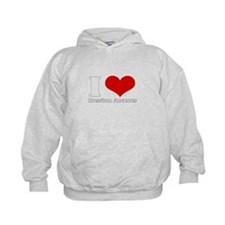 I Love (Heart) russian accent Hoodie