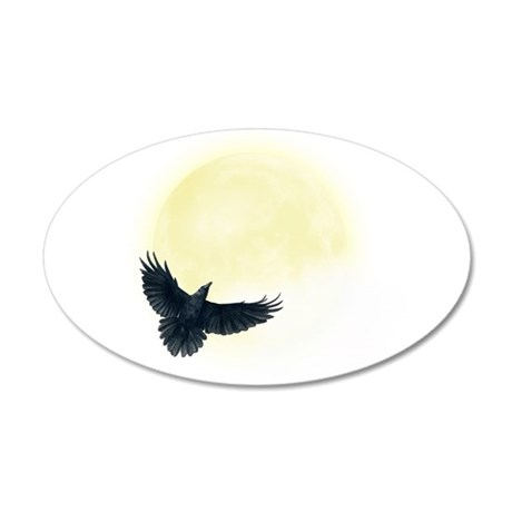 Raven Moon Wall Decal