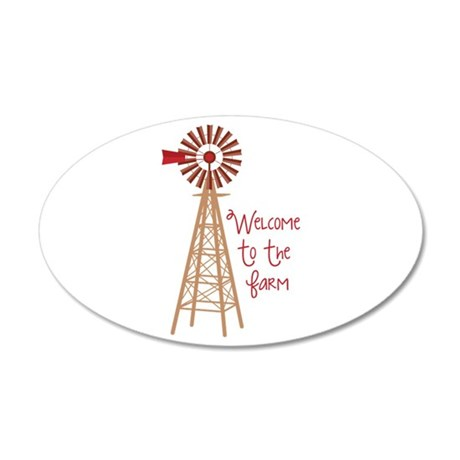 Welcome To The Farm Wall Decal