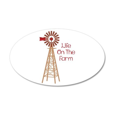 Life On The Farm Wall Decal