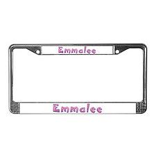 Emmalee Pink Giraffe License Plate Frame