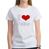 i love (heart) coke Tee