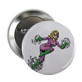 "TORNADO GIRL Vortex 2.25"" Button (10 pack)"
