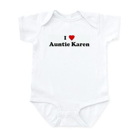 I Love Auntie Karen Infant Bodysuit