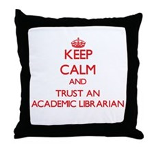 Keep Calm and Trust an Academic Librarian Throw Pi