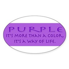 purplewaybumper Decal