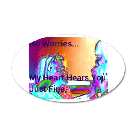 No Worries Wall Decal