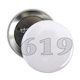 "619 san diego area code baby 2.25"" Button (100 pa"
