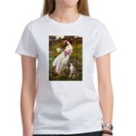 Windflowers & Boxer Women's T-Shirt
