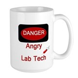 Danger Angry Lab Tech Mug