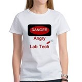 Danger Angry Lab Tech Tee