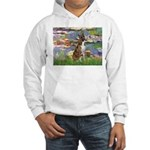 Lilies & Brindle Boxer Hooded Sweatshirt