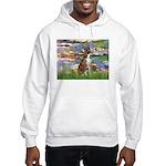 Lilies & Brindle Boxer Hooded Sweatshirt