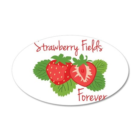 Strawberry Fields Forever Wall Decal