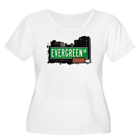 Evergreen Av, Bronx, NYC Women's Plus Size Scoop N