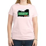 Evergreen Av, Bronx, NYC T-Shirt