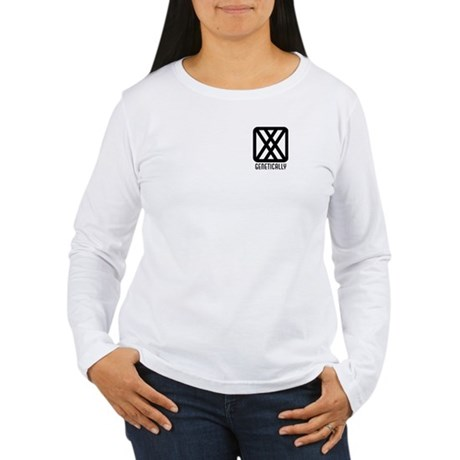 Genetically : Female Women's Long Sleeve T-Shirt