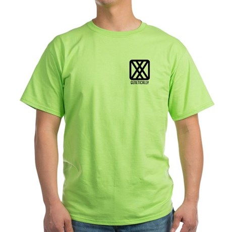 Genetically : Female Green T-Shirt