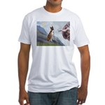 Creation...& Brindle Fitted T-Shirt
