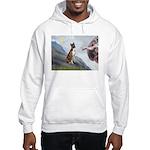 Creation...& Brindle Hooded Sweatshirt