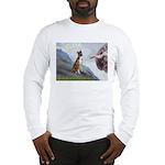 Creation...& Brindle Long Sleeve T-Shirt